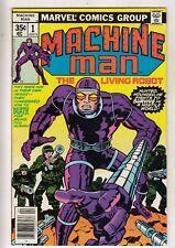 Machine Man #1 (1978-04) Vol 1 Marvel Jack Kirby script art cover Mid-High Grade