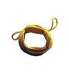 WILLIAMS 1 Person 60 Strand Ski Tube Rope Yellow only