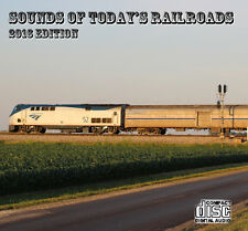 Train Sounds On CD: Sounds Of Today's Railroads - New 2016 Edition