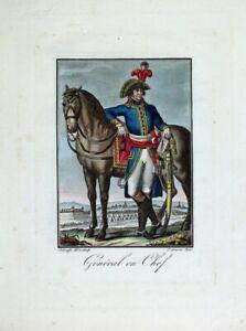 Französische Revolution Armee General Uniform Säbel Zweispitz Koalitionskriege