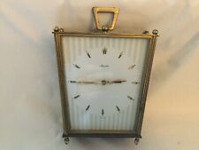 ART DECO MAUTHE GERMAN CARRIAGE CLOCK NEEDS ATTENTION