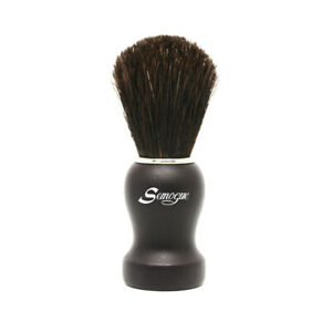 Semogue Pharos-C3 Black Horse Shaving Brush - Black - Official Semogue Dealer