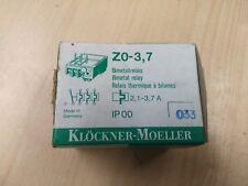 MOELLER Z0 - 3.7  OVERLOAD RELAY 2.1 - 3.7 AMP
