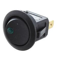 4 Mini tondo di verde LED sedia a dondolo Indicatore Interruttore 3 perno A X0S5