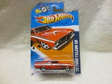 FORD FALCON XB RED HOT WHEELS LONG CARD 2012