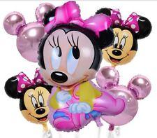 5 Palloni MINNIE TOPOLINA BABY DISNEY party compleanno festa