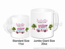 Personalised Gift Ice Cream Van Jumbo Mug Cone Scoop Driver Vendor Present #2