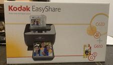 Brand New -Kodak Easyshare C633 + G610 Bundle! Sealed! Rare!
