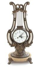 French lyre-form mantel clock Lot 57