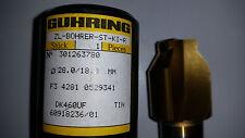 GÜHRING ZL-BOHRER - ST-KI-R  DM: 28 mm DK460UF NEU
