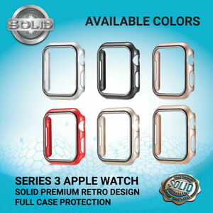 Apple Watch Series 3 Full Protective Case Screen Protector Cover RETRO 38/42mm