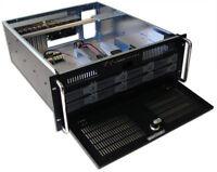 "4U Rackmount case 1x5.25"" & 1x3.5"" Open bay & 8x3.5"" Hot Swap SATA HDD bay"