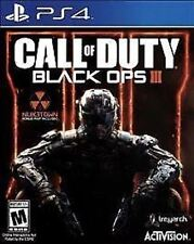 Call of Duty Black Ops III 3 COD BO BO3 BOIII USED SEALED Sony Playstation 4