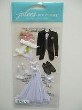 JOLEE'S BOUTIQUE STICKERS - Bride & Groom - wedding