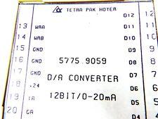 TETRA PAK HOYER 5775.9059 D/A CONVERTER 57759059 12 BIT/0-20mA