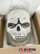 FRP Skull Skeleton Full Face Mask Cosplay Props For James Bond 007:Spectre AAA
