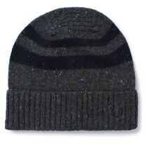 Fred Perry Mens Grey Tipped Beanie Hat One Size