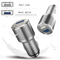 Super Fast 5.4a Dual Universal Car Charger Adapter For Samsung Apple iPhone iPad