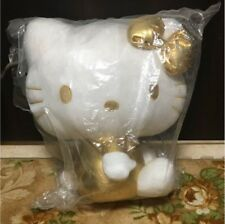 Excellent! rare! Limited Hello Kitty Plush Doll gold version New article Unused