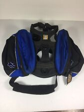 New listing Ruffwear Dog Backpack Harness Black Blue Size Xs Extra Small Hiking Pack Trail