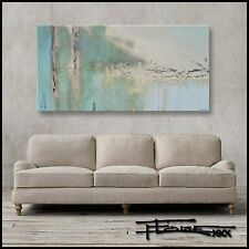 ABSTRACT PAINTING Large CANVAS WALL ART Direct from Artist FRAMED USA ELOISExxx