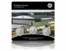 Tuskegee Airmen National Historic Site 2021 Quarter, 3-Coin Set