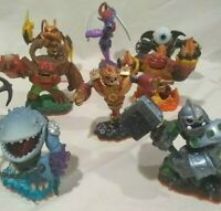All 8 Skylanders Giants, Tree Rex, Hot Head, Swarm, Bouncer, Ninjini, Thumpback