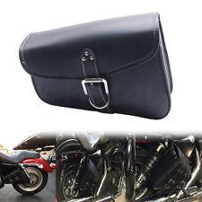 Sacoche sac trousse latérale en Cuir Avec Réserve pour Harley Sportster 883 XL