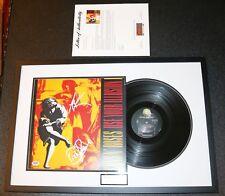 ! Axl Rose Dizzy Signed Guns N Roses Use Your Illusion Vinyl PSA JSA Autograph !
