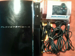 PS3 Console CECHA01 Complete, Tested, Sanitized, Adult Owned, Free Shipping CAN