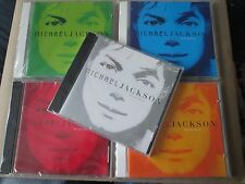 Michael Jackson - Invincible CD COMPLETE SET OF FIVE COLOUR SLEEVES NEW SEALED