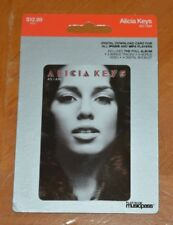 Rare Alicia Keys Collectible Digital Album Card Not Activated Does Not Work