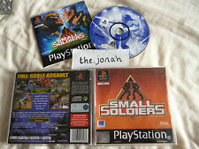 Small Soldiers PS1 (COMPLETE) black label Sony PlayStation classic rare