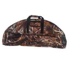 Compound Bow Bag Archery Arrow Carry Bag Hunting Quiver Holder Camo 95x41cm