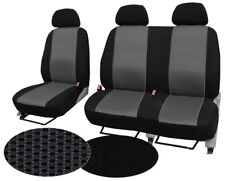 "CITROEN JUMPY UP TO 2007 2+1 FRONT UNIVERSAL SEAT COVERS ""TUNING EXTRA"""