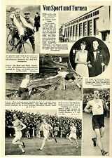 Nuevos alemanes en turnschule Berliner Sport foro Fritz kietzmann finne Nurmi 1928