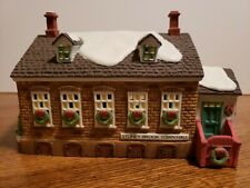 "Dept 56 Hvc New England Village Series ""Stoney Brook Town Hall"" 1992 #5644-8."
