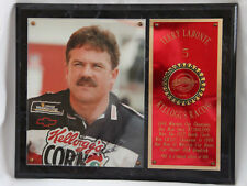 KELLOGG'S RACING TRADITIONS SERIES 1 TERRY LABONTE AUTOGRAPHED PLAQUE