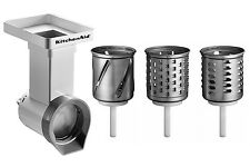 MVSA Original Zubehör KitchenAid Artisan Reibe mit 3 Zylinder