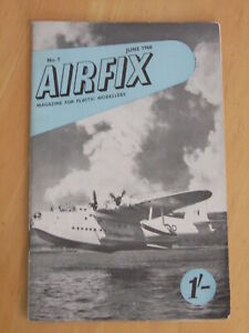 Airfix Magazine - scale modelling subjects 1960 to 61 (various issues available)