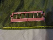 Toy Little Tikes Dollhouse 2nd floor part pink railing banister porch roof