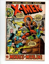"The X-Men #78 (Oct 1972, Marvel) VF 8.0 ""THE MENACE OF MERLIN"""