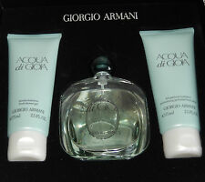 ARMANI  ACQUA DI GIO    SET - EAU DE PARFUM 50 ML SHOWERGEL BODYLOTION  NEU OVP