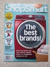 Consumer Reports Shop Smart Magazine April 2015 The Best Brands Top 10 Issue