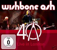 CD DVD Braccio oscillante Ash 40th Anniversary Concert Live in Londra Deluxe