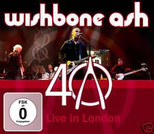 CD DVD WISHBONE ASH 40 ANNIVERSARY CONCERT LIVE IN LONDON DELUXE 2cds Plus DVD