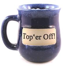 "Office Co-Workers Coffee Mug ""Top'er Off!"" Ceramic Beer Soda Tea Cup Friend Gift"