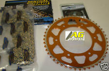 KTM SX EXC SXF EXC-F Renthal 520 R1 Chain & Sprockets Set 13T 48T Orange