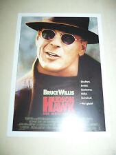 HUDSON HAWK, film card [Bruce Willis, Andie MacDowell, Danny Aiello]