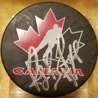 RAY BOURQUE HOF TEAM CANADA SIGNED AUTOGRAPHED NHL HOCKEY PUCK  NO COA